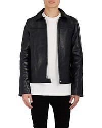 RtA Double Zip Front Leather Jacket
