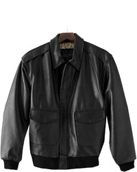 Excelled A 2 Leather Bomber Jacket