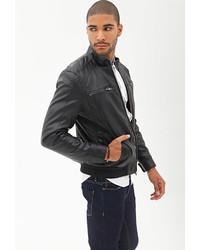 Forever 21 Faux Leather Biker Jacket