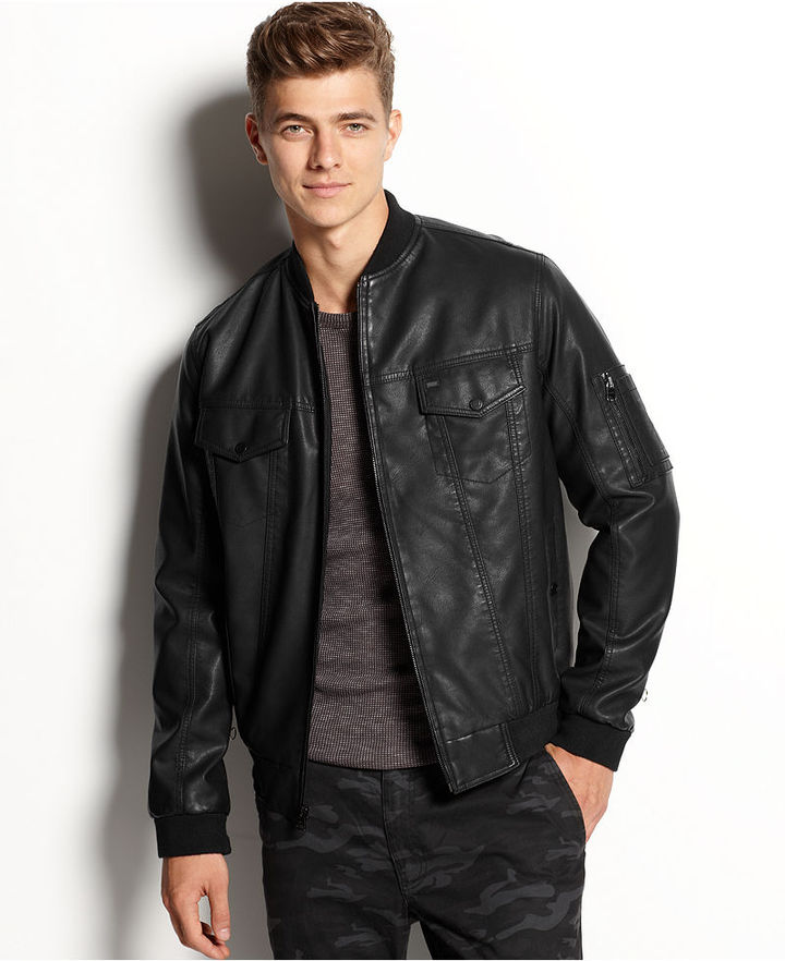 Levi's Faux Leather Bomber Jacket | Where to buy & how to wear