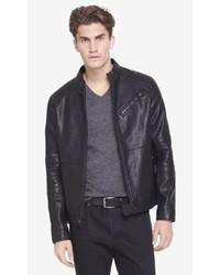 Express Leather Biker System Jacket