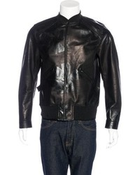 Oamc Leather Bomber Jacket W Tags
