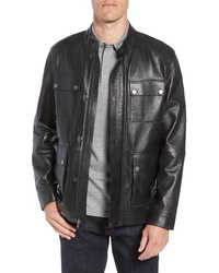 Nordstrom Men's Shop Leather Field Jacket