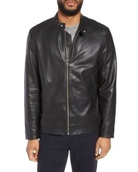 Calibrate Leather Moto Jacket
