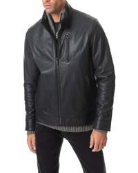 Rodd & Gunn Levin Leather Jacket