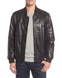 Andrew Marc Marc New York Summit Leather Bomber Jacket