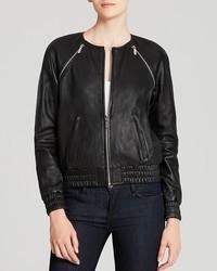 MICHAEL Michael Kors Michl Michl Kors Leather Bomber Jacket