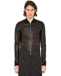 Rick Owens Nappa Leather Bomber Jacket