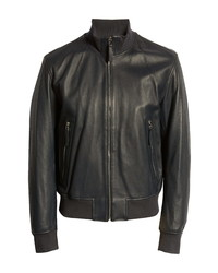 BOSS Neovel Leather Jacket