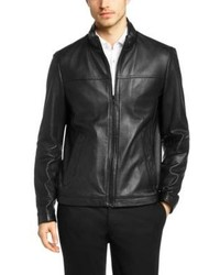 4e4d4099e89 Hugo Boss Jalon Quilted Leather Bomber Jacket S Black Out of stock · Hugo  Boss Nilas Lambskin Leather Jacket