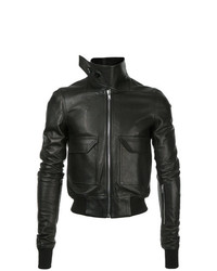 Rick Owens Oblong Collar Bomber Jacket