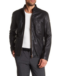 Hugo Boss Sheepskin Leather Jacket