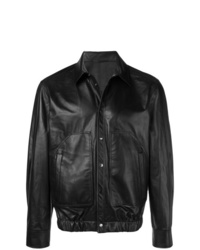 Neil Barrett Shirt Leather Jacket