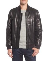 Andrew Marc Summit Leather Bomber Jacket