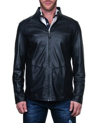 Maceoo Tag Leather Jacket
