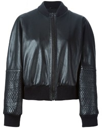 Jil Sander Vintage Panelled Sleeve Bomber Jacket