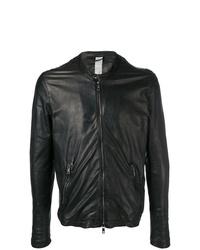 Giorgio Brato Wrinkled Effect Biker Jacket