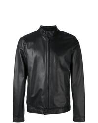 Z Zegna Zipped Biker Jacket