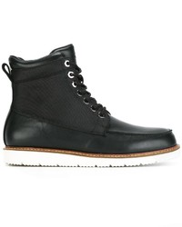 Armani Jeans Lace Up Boots