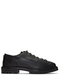 Valentino Black Garavani Boot Sole Derbys