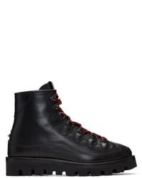 Valentino Black Garavani Hiker Boots
