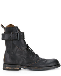 Buckle strap ankle boots medium 3762007