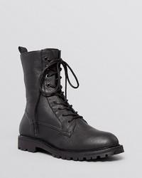 Max Mara Flat Lace Up Combat Boots Bagagli