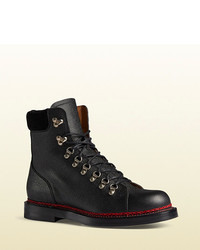 Gucci Leather Trekking Boot