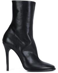 Haider Ackermann Side Zip Heeled Boots