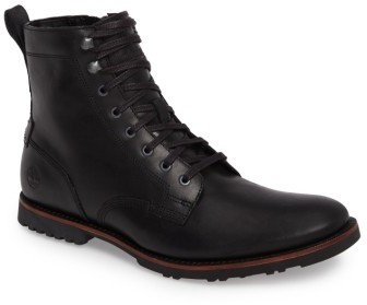 $160, Timberland Kendrick Side Zip Leather Boot