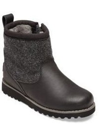 UGG Kids Bayson Wool Leather Pure Boots