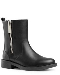 Gucci Kids Leather Zipper Boots