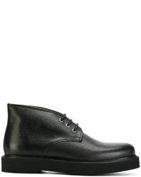 A.P.C. Lace Up Ankle Boots