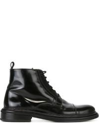 AMI Alexandre Mattiussi Lace Up Boots