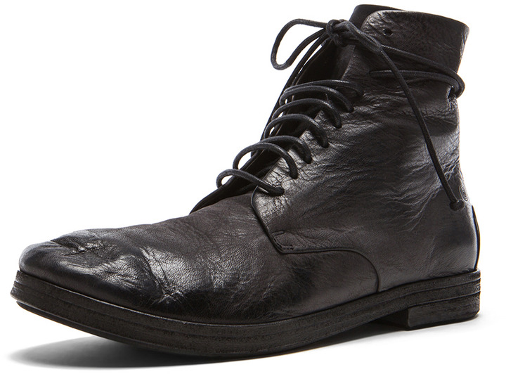 lace-up boots - Black Marsèll ZV73FEt