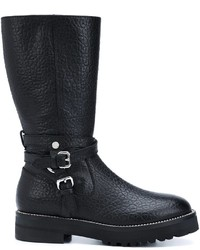 Moschino Buckled Boots