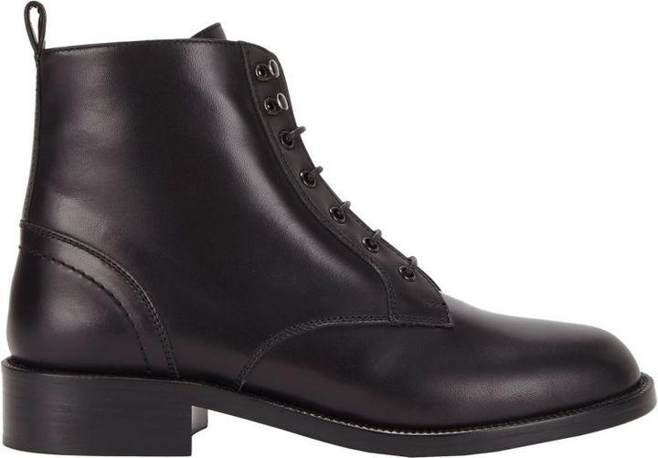 a227bea967a Saint Laurent Patti Lace Up Boots Black, $1,195 | Barneys New York ...