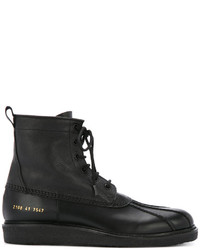 671cbf2c368f4 Men s Black Leather Boots by Common Projects