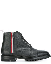 Thom Browne Lace Up Ankle Boots