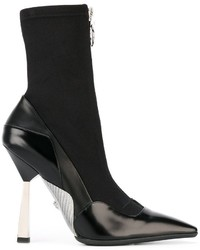 Versace Layered Effect Runway Boots