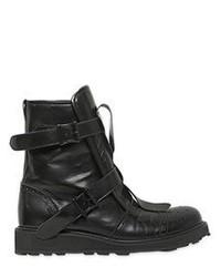 Yohji Yamamoto Belted Calf Leather Boots
