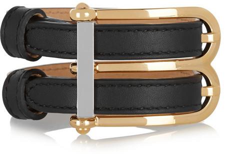 Balenciaga B Leather Bracelet
