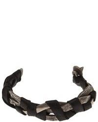 Beth Orduna Leather Braided Bracelet