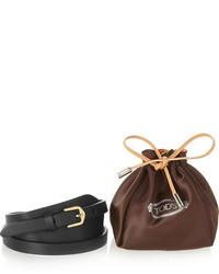 Tod's Buckled Leather Bracelet