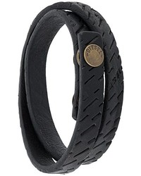 Diesel Leather Bracelet