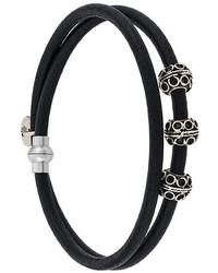 Eleventy Embellished Wrap Bracelet