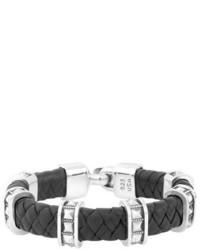 King Baby Studio King Baby Braided Leather Bracelet
