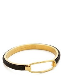 Marc by Marc Jacobs Leather Hinge Cuff Bracelet
