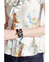 Alexander McQueen Leather Wrap Bracelet