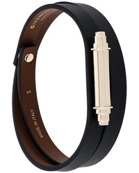 Givenchy Metallic Bar Wrap Bracelet
